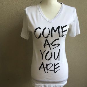 """Come As You Are"" Tee Shirt"